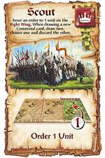 BattleLore command card