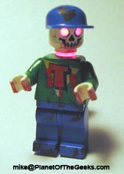 Zombie Timmy Lego