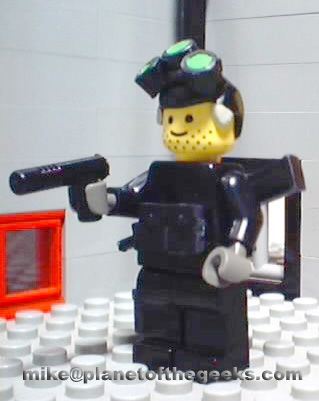 my Lego Sam Fisher